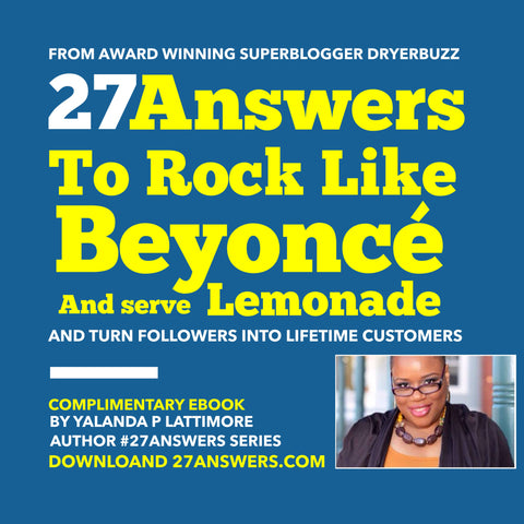 27Answers to Rock Like Beyonce and serve Lemonade - FREE eBook