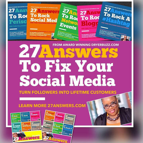 Webinar: 27Answers to Fix Your Social Media