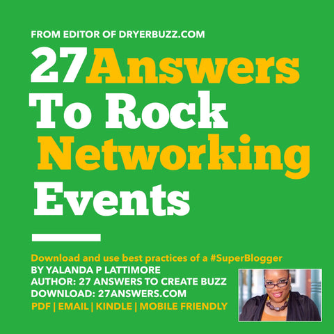 27 Answers to Rock Networking Events