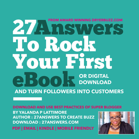 27 Answers to Rock Your First eBook or Digital Download