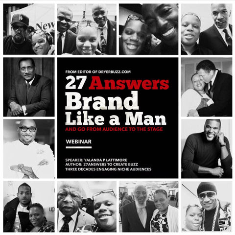 Webinar | 27Answers to Brand Like a Man