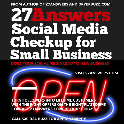 27Answers Social Media Checkup for Small Business and Non Profits
