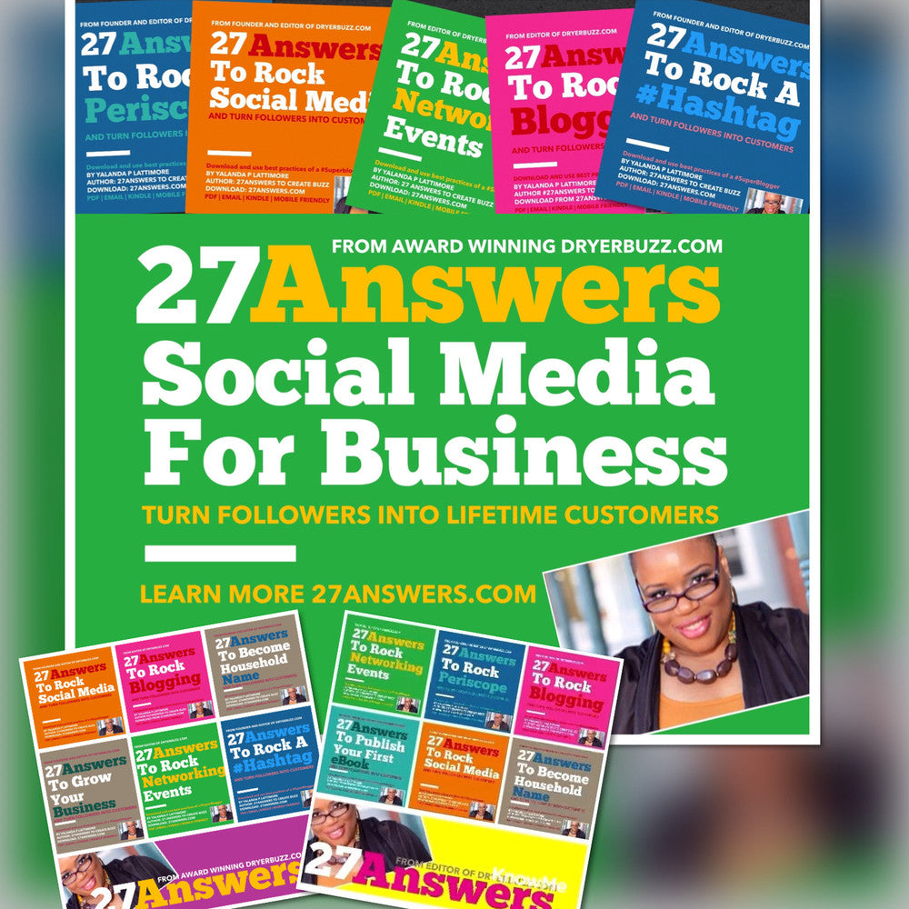 #27Answers book and workshops