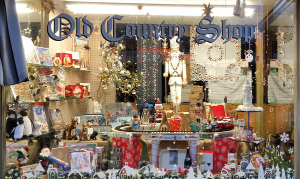Old Country Shop Christmas Magic Window