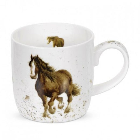 Wrendale Bone China Horse Mug