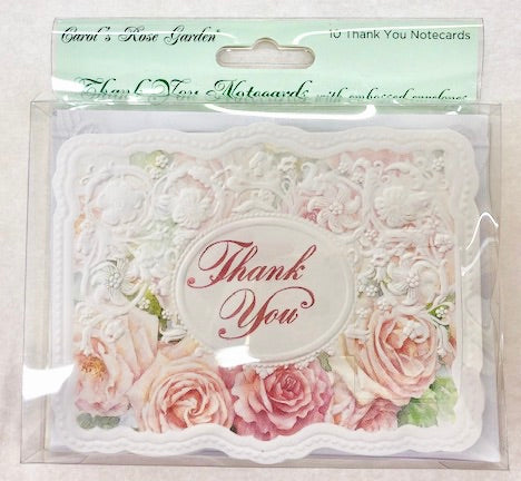 Roses Thank You Card Set