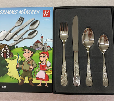 Grimm Fairytale Children's Cutlery Set