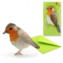 3D Animal Card - Robin