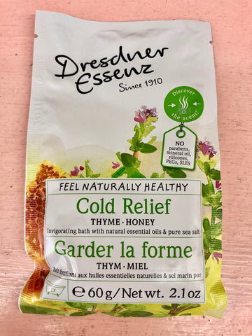 Dresdner Essenz Bath Salts - Cold Relief
