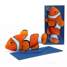 3D Animal Card - Clownfish