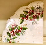 Ihr Holly and Ivy Round Napkins
