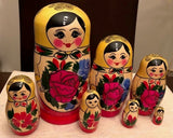 Traditional Nesting Dolls - set of 7