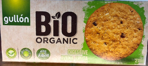 Organic Digestive Biscuits with oats and fruit