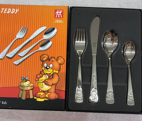 Teddy Children's Cutlery Set