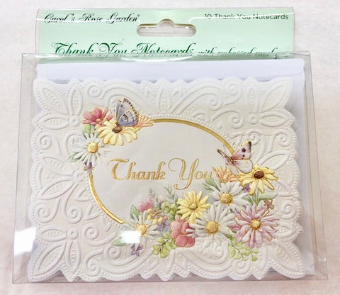 Field Flowers Thank You Card Set