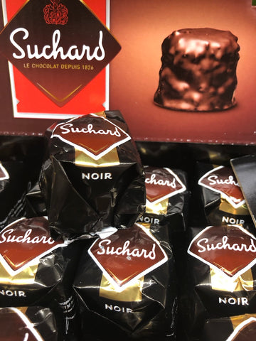Suchard Praline filled Dark Chocolate