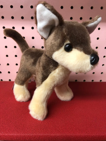 Plush Chocolate Chihuahua Dog