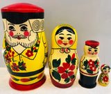 Family Nesting Dolls - set of 4