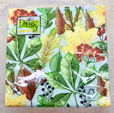 Rowanberry and Forest Leaves Lunch Napkins