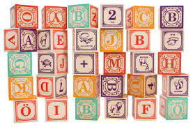Swedish Language Wooden Blocks