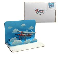 3D Take Flight Card