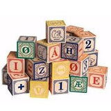 Norwegian Language Wooden Blocks