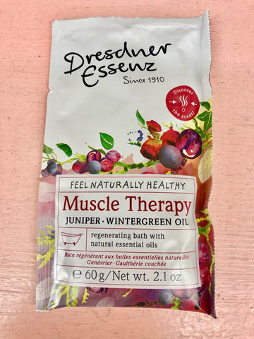 Dresdner Essenz Bath Salts - Muscle Therapy