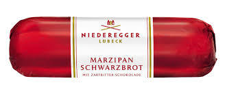 Large Niederegger Marzipan Dark Chocolate Loaf