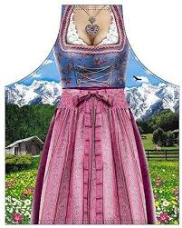Bavarian Woman Traditional Apron