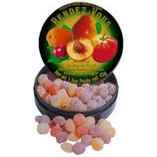 French Natural Mixed Fruit Candies
