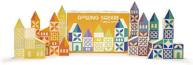 Uncle Goose Gosling Square Blocks