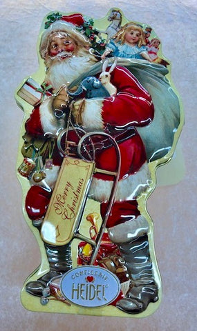 Santa Chocolate Gift Tin