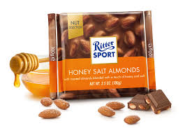 Ritter Sport Honey Salt Almond with Milk Chocolate