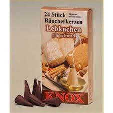 Knox Incense Cones - Gingerbread Lebkuchen
