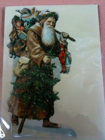 Nostalgic St. Nick Card