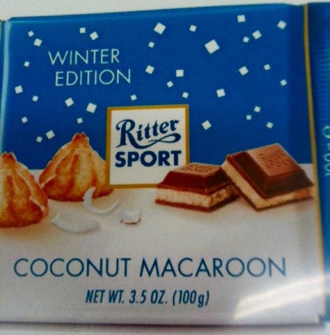 Ritter Sport Coconut Macaroon Bar - Limited Edition