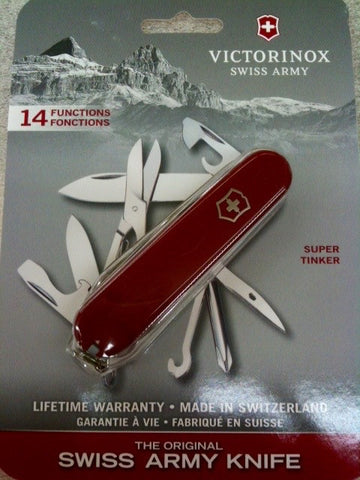 Super Tinker Victorinox Swiss Army Knife