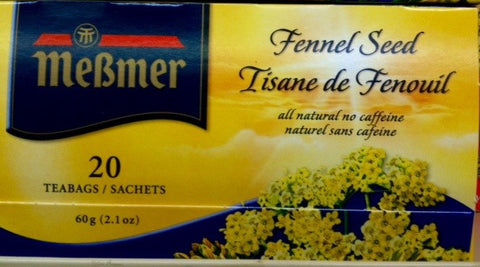 Messmer Fennel Seed Tea