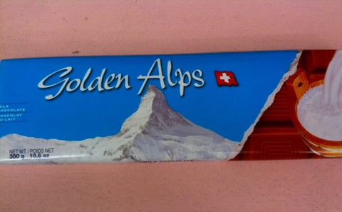 Golden Alps Large Milk Chocolate bar