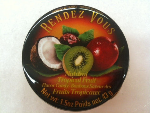 French Natural Tropical Fruit Candies