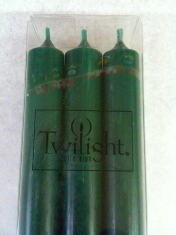 Twilight Dinner Candles - Eucalyptus