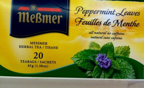 Messmer Peppermint Leaf Tea