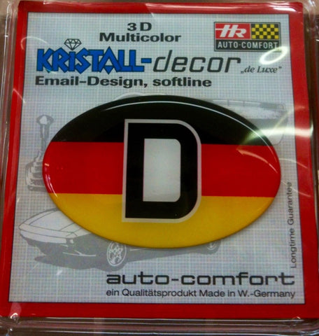 German Decal Sticker