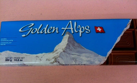 Golden Alps Large Dark Chocolate bar