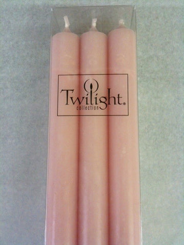 Twilight Dinner Candles - Pink