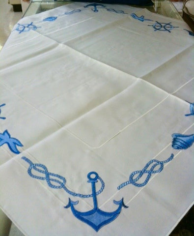 "Anchor Tablecloth 36""x 36"""