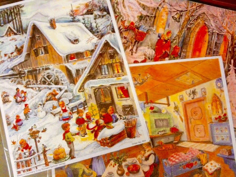 Picture Advent Calendars - Small
