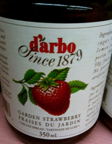 Darbo Garden Strawberry Jam
