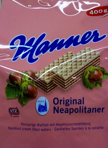 Manner Hazelnut Cream Wafers
