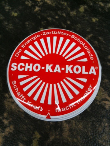 Scho-ka-kola Energy Chocolate